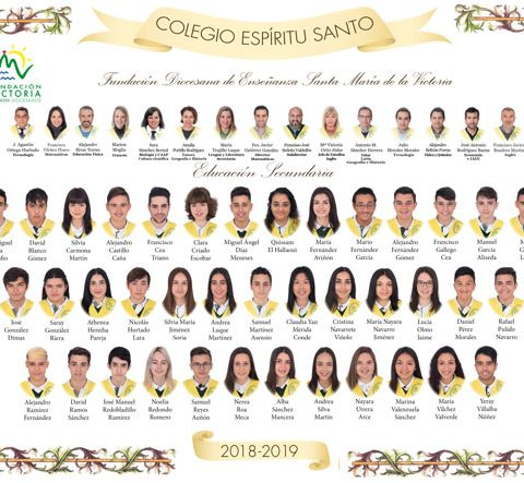 GRADUACIÓN 2018-2019